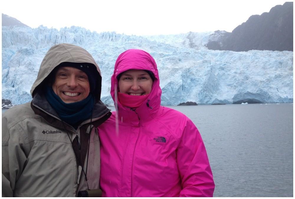 Holgate Glacier in the Kenai Fjords