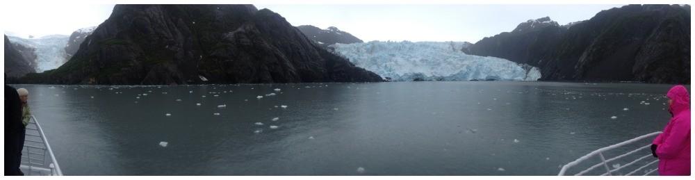 Holgate Glacier panorama