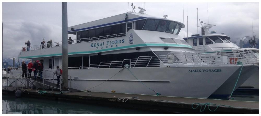 Kenai Fjords Tour catermeran