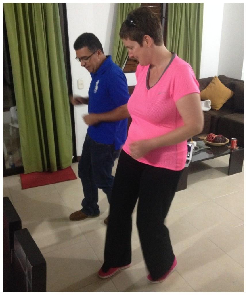 Salsa with Enrique