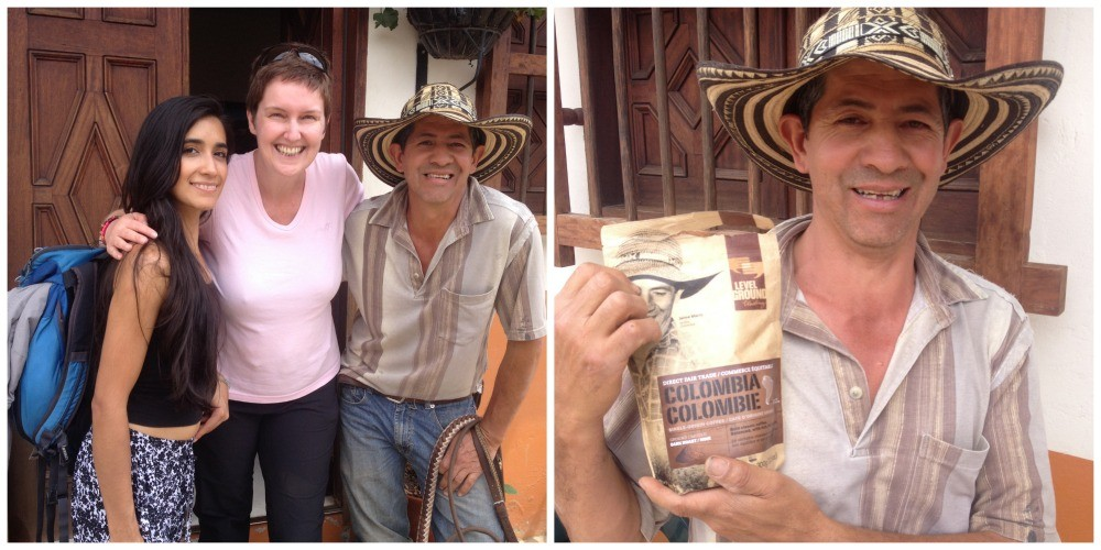 El Ranchero with us and his coffee