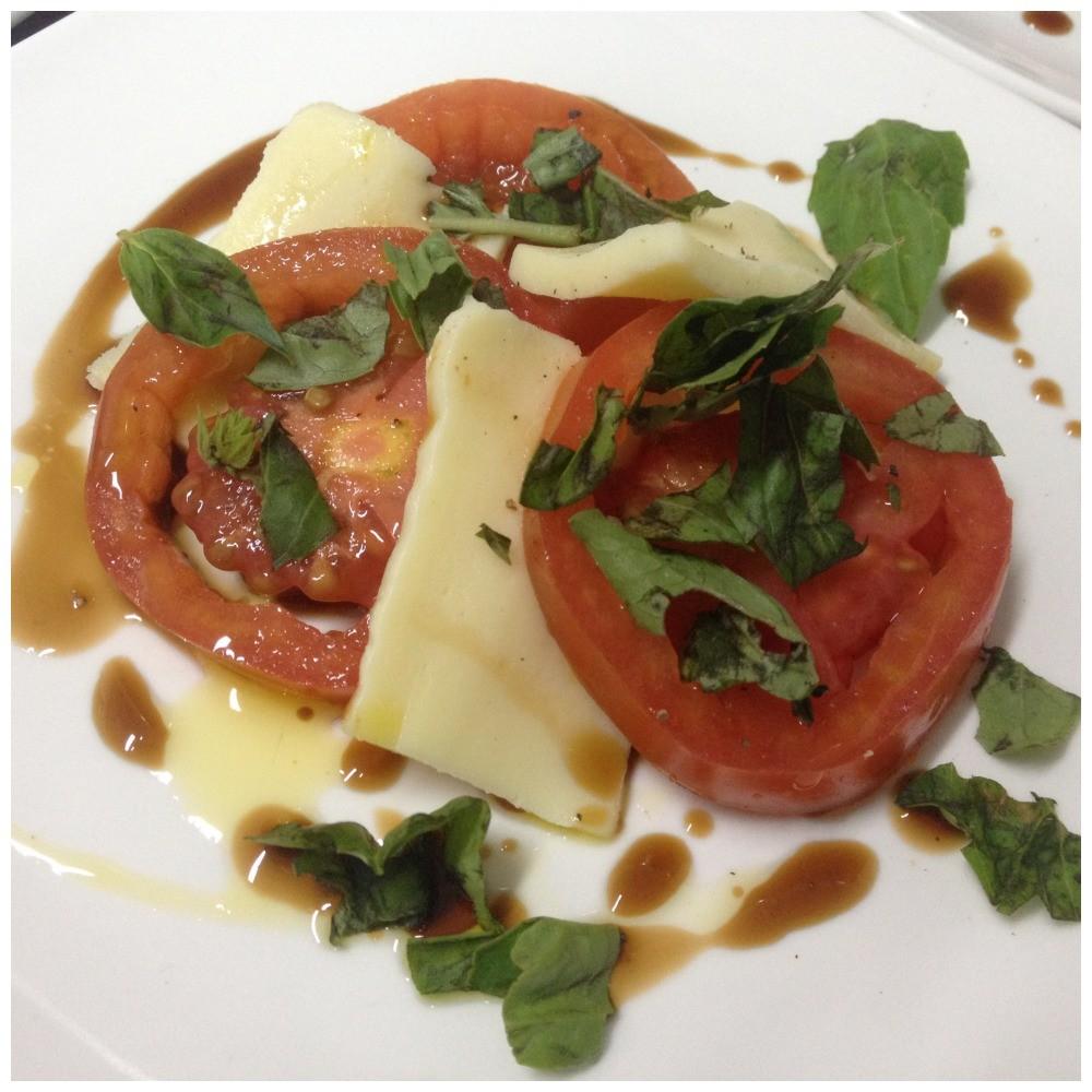 """First course """"Tomato Mozarrella salad"""""""