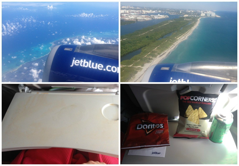 Jet Blue flight to Miami