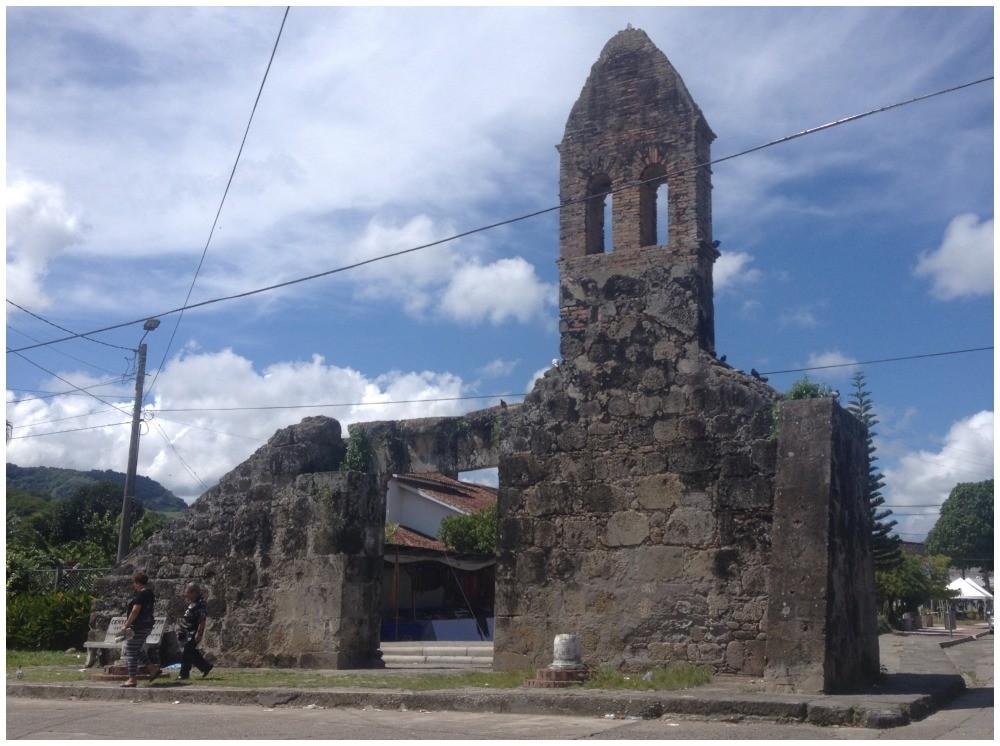 Old ruin of a church in Mariquita