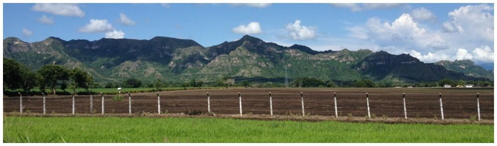 Panorama near Armero