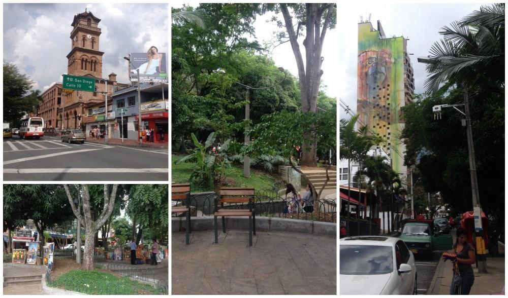 Parque Lleras in Medellin