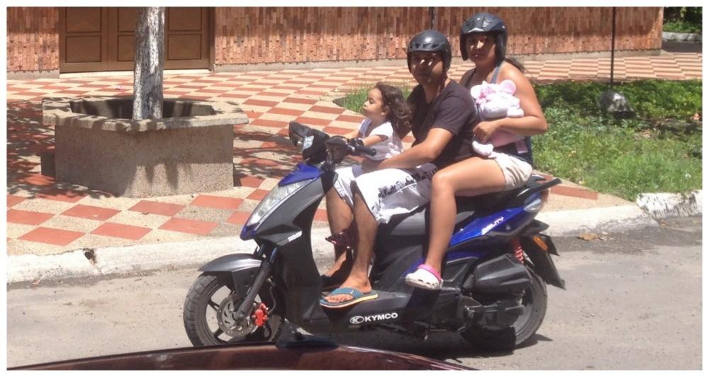 Safety on motorbikes