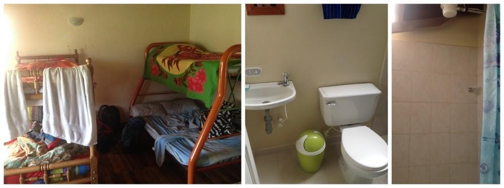 The dorm at Hostal Selva y Cafe, Casa del Lago