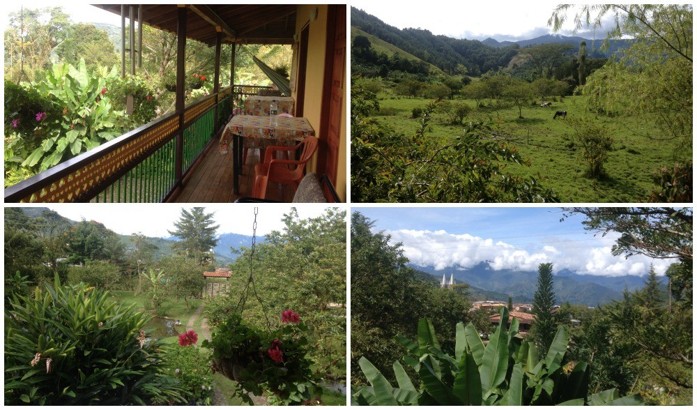The views from the hostel in Jardin
