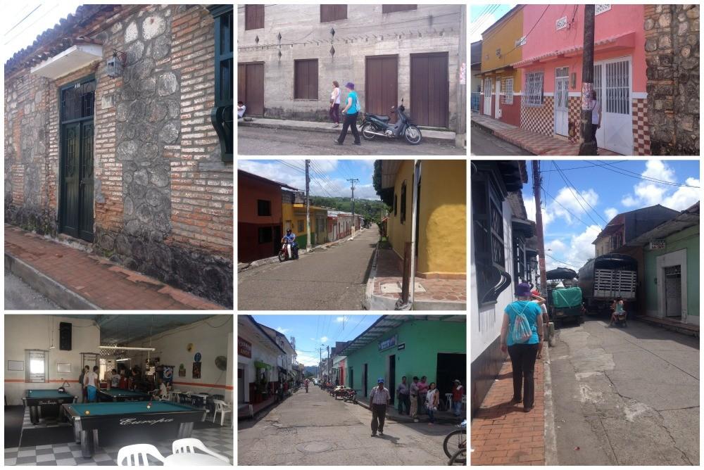 Walking around in Mariquita
