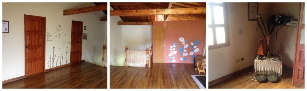 second floor rooms and yoga area at Casa Del Lago in Jardin