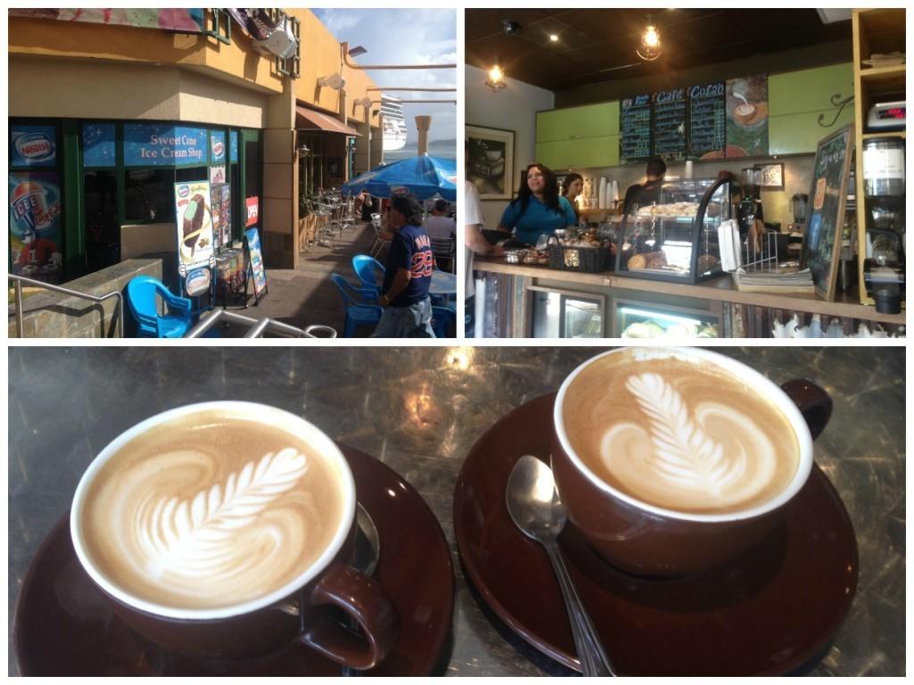 A very good coffee in San Juan