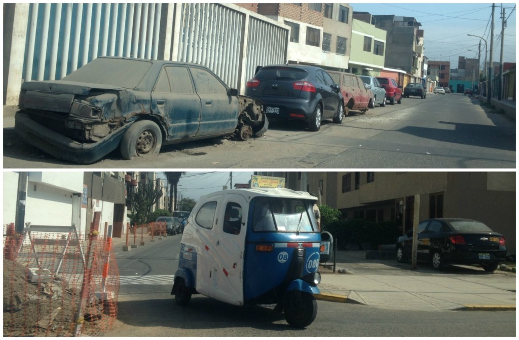 All sorts of vehicles can be seeen in Lima