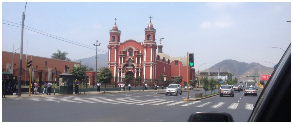 Another nice church in Lima
