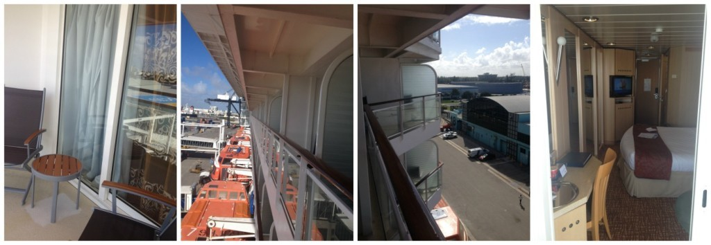 Balcony and view left & right from #7084