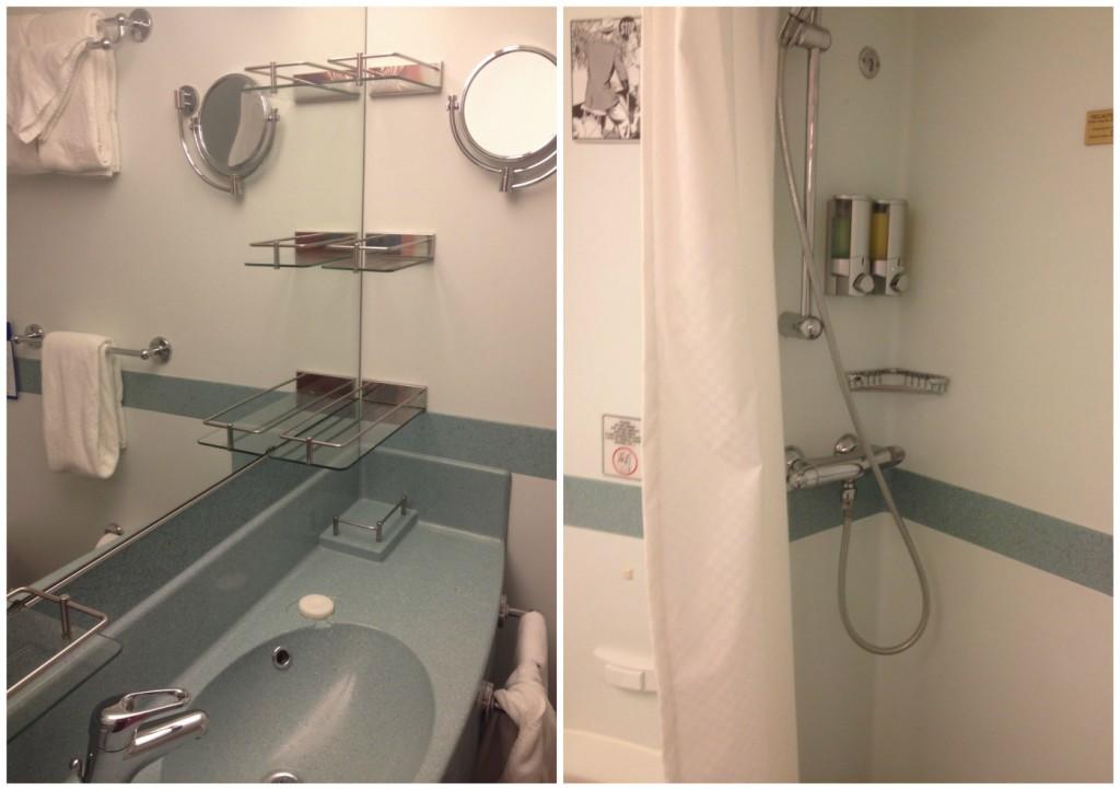 Bathroom on Carnival Splendor