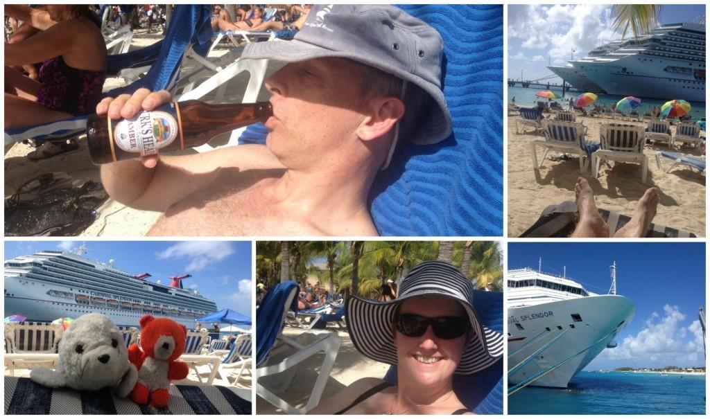 Beach life on Grand Turk