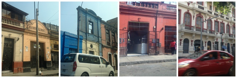 Buildings in Lima