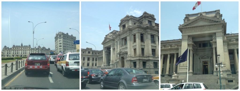 Buildings in Lima Peru