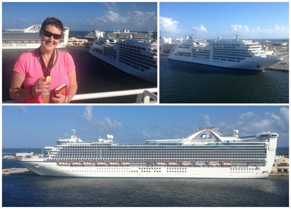 Caribbean Princess & Silversea Silver Spirit