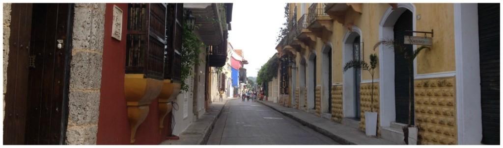 Cartagena panorama