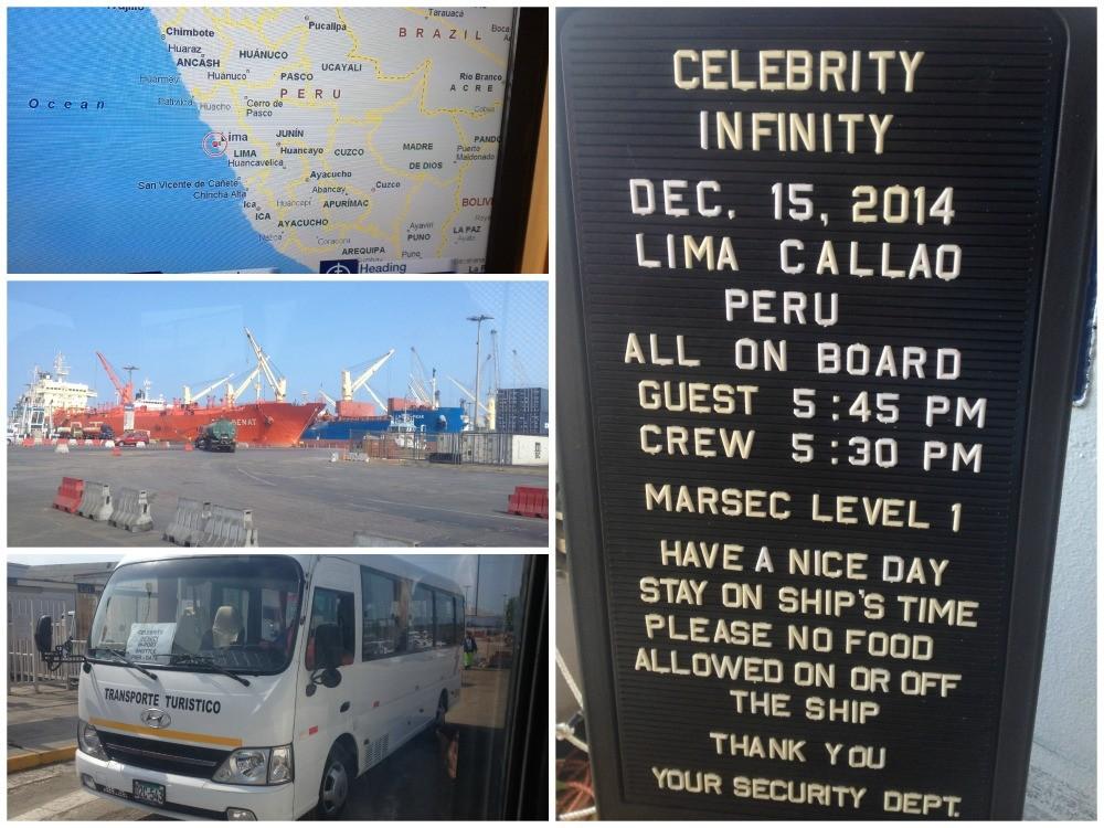 Celebrity Infinity in Lima Callao Peru