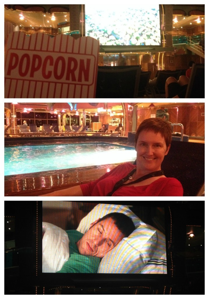 Cinema at sea on Carnival Splendor
