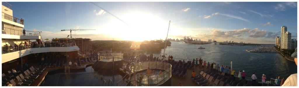 Cruising from Miami