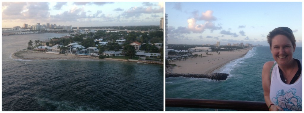Departing from Port Everglades Florida