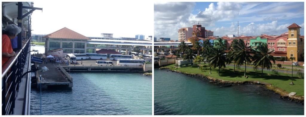 Docked in Colon Panama