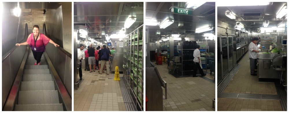 Down in the Galley on Celebrity Infinity