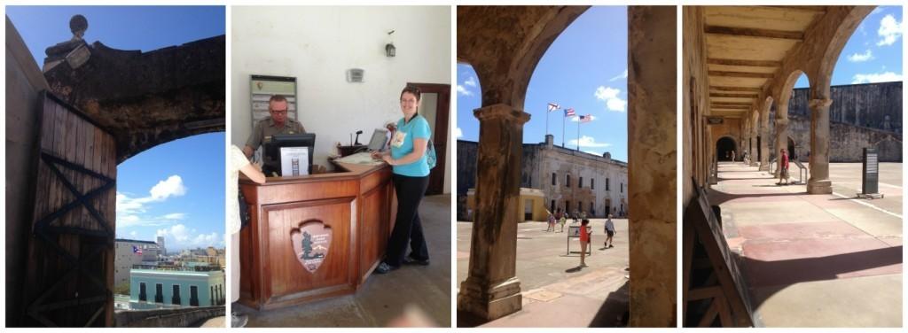 Entrance to Castillo San Cristobal