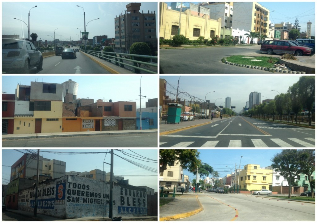First images from on the roads in Lima