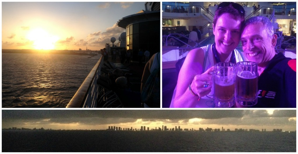 Florida, Miami skyline from the ship