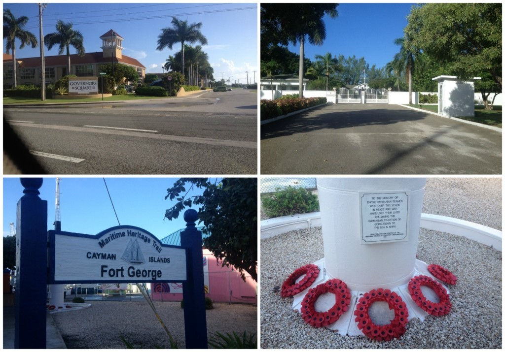 Fort George and Government House on Cayman Islands
