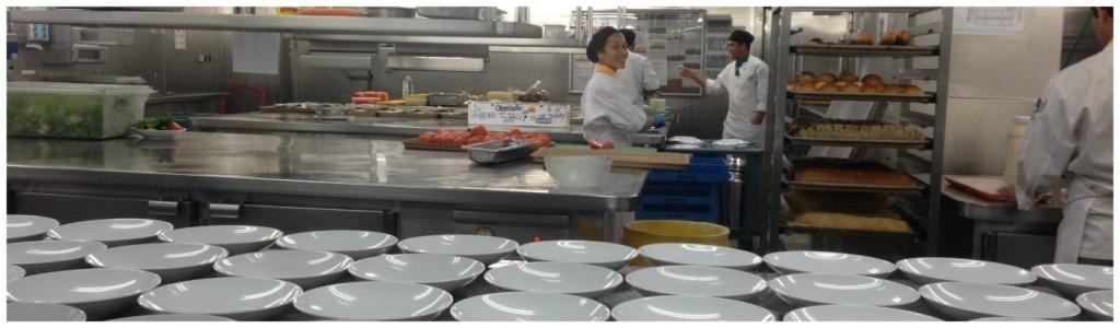 Galley Tour on Celebrity Infinity