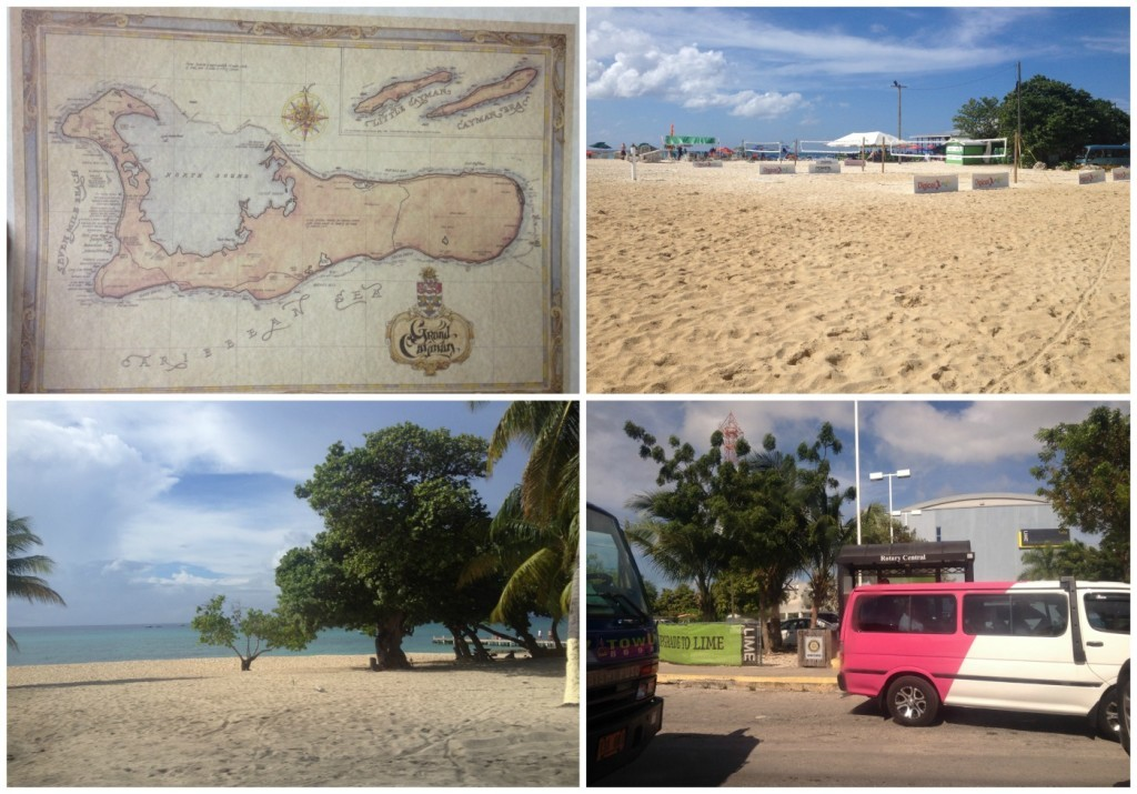 Grand Cayman 7 mile beach and bus