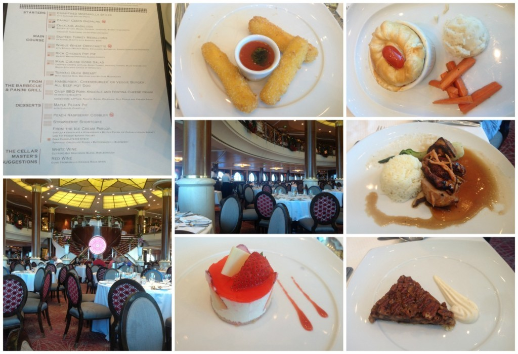 Lunch in the Trellis dining room on Celebrity Infinity