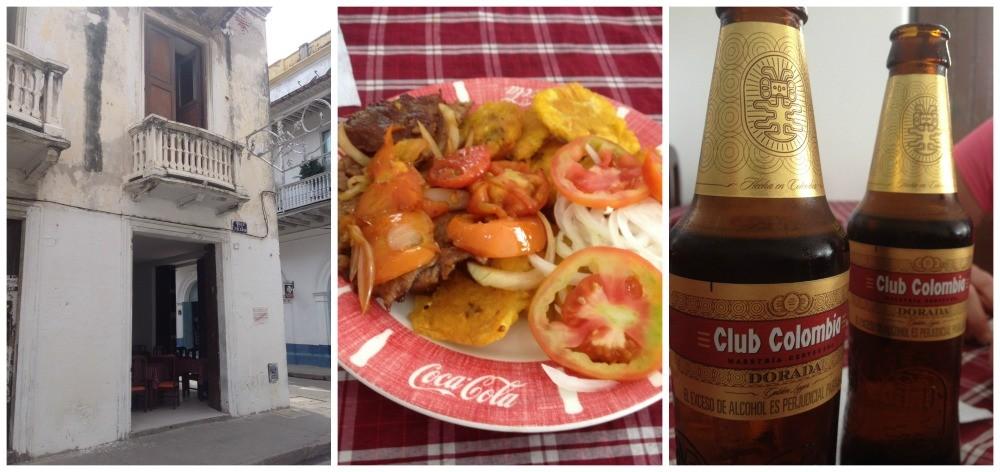Menu del Dia in Cartagena