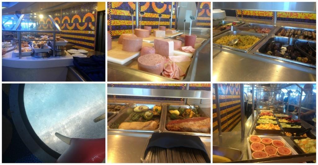 OceanView Cafe breakfast on Celebrity Infinity