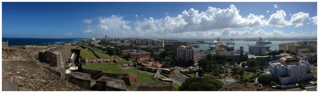Panorama of San Juan