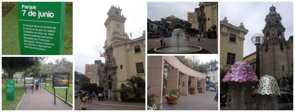 Parque 7 de Junio in Lima