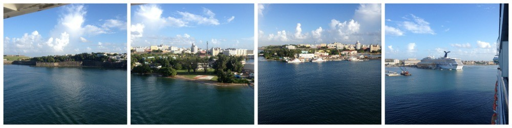 Puerto Rico and the port of San Juan