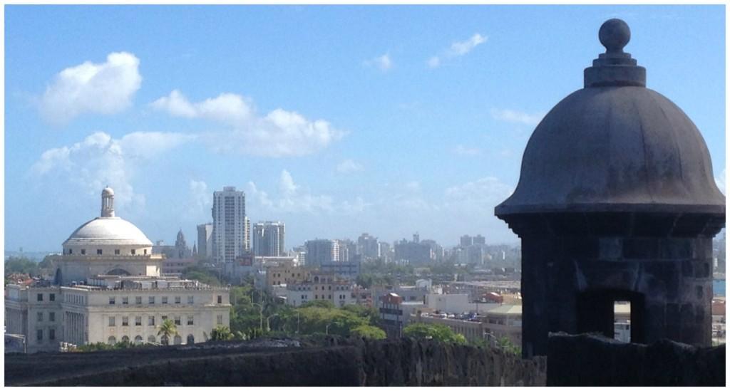 Views from San Juan fort San Cristobal