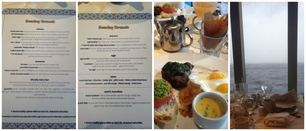 Sea Day Brunch in the Main Dining room