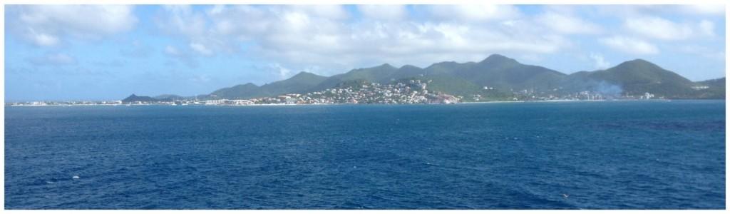 St Maarten island