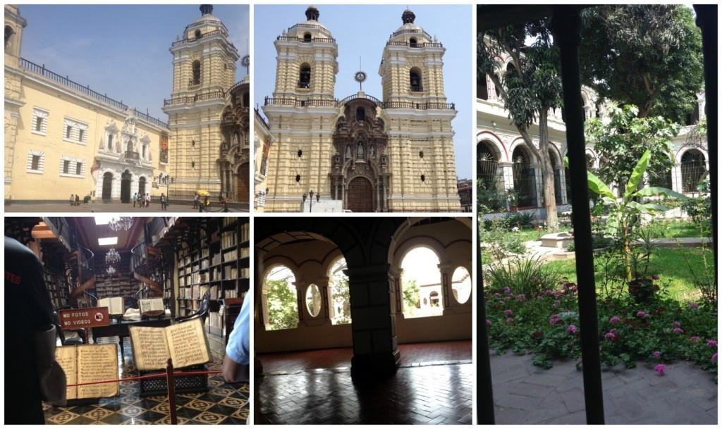 The catacombs in Lima
