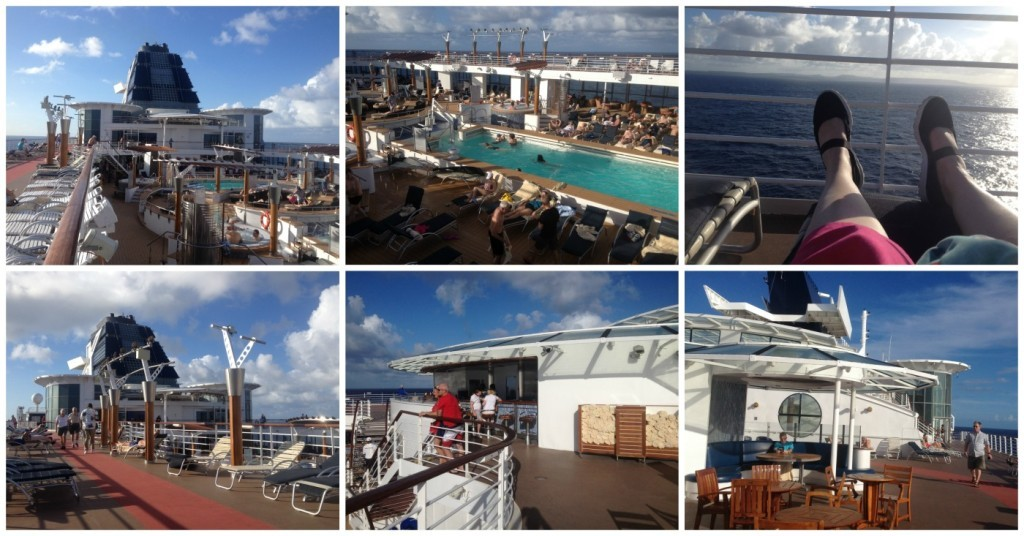 Top deck views on Infinity