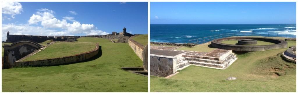 Vast space at Fort San Cristobal