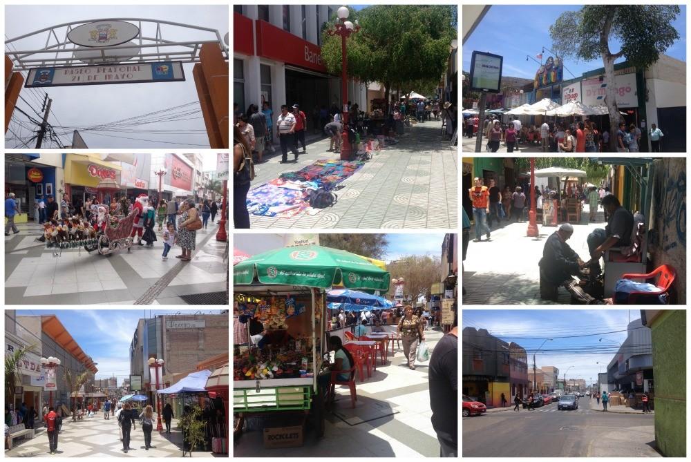 Arica town centre